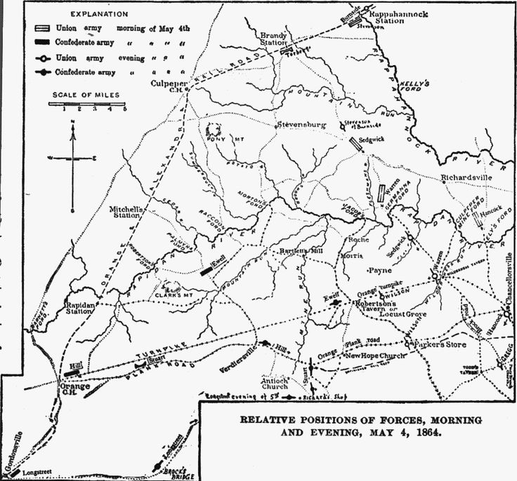 the wilderness campaign was fought in what state
