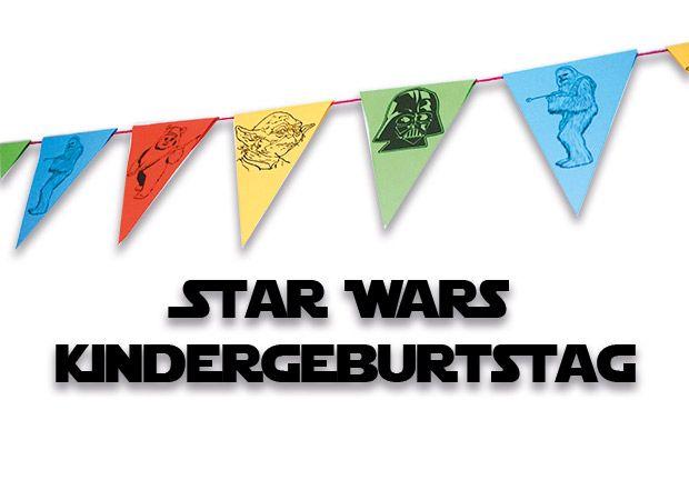 Zahlreiche Ideen für einen Star Wars Kindergeburtstag: Dekoration, BB8 Kuchen, Spiele, Jedi Training, Bastelideen, Partyideen