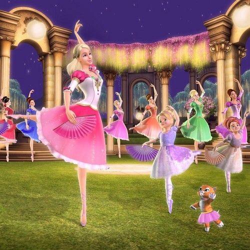 Barbie in The 12 Dancing Princesses Game Screenshots
