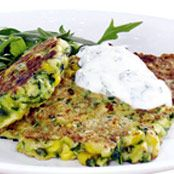 Corn & Courgette Fritters Recipe - Quick and easy at countdown.co.nz