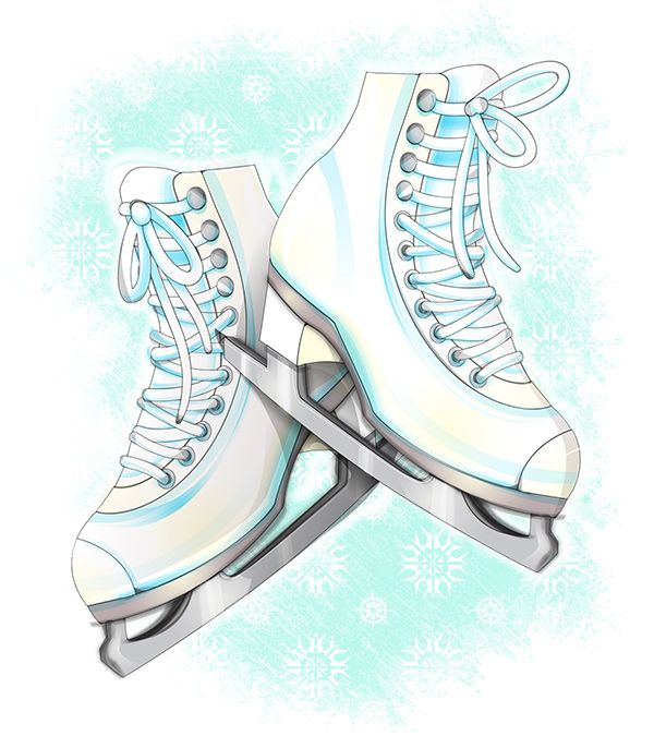 8 best images about cards ice skates on pinterest winter illustration  the winter and cartoon ice skate clip art free ice skate clip art pictures