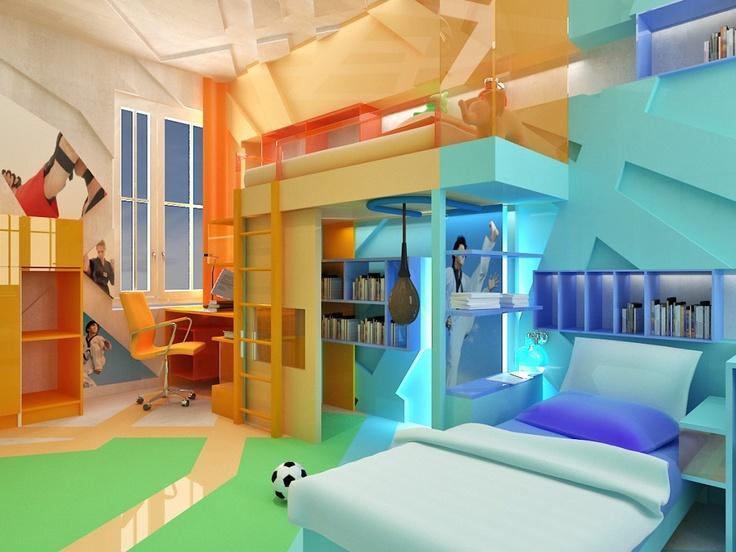 Sport training room/bedroom