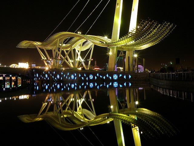 Tanggu, Tianjin China - The Sails
