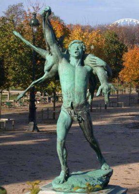 Retour de chasse de carl s jardin des tuileries sculptures pinterest bronze paris and statue - Statues jardin des tuileries ...