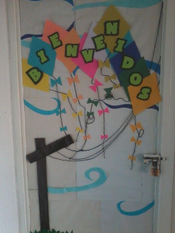 Regreso a clases decoraci n de puerta back to school for Decoracion de puertas de colegio