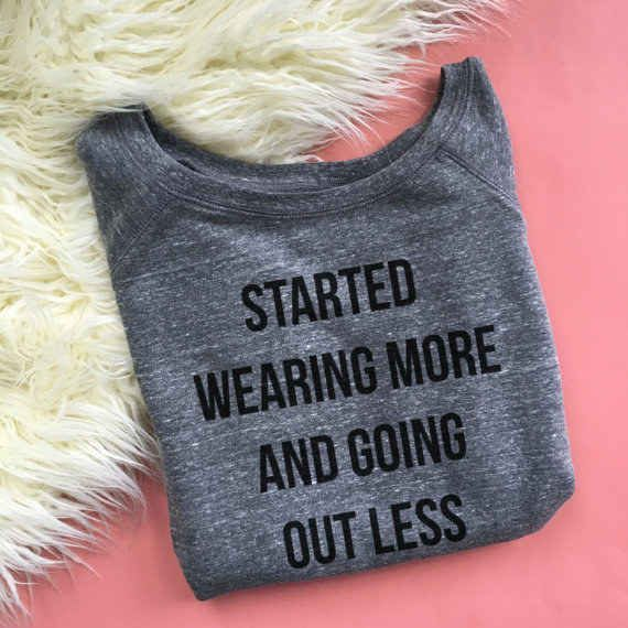 Or this sweatshirt if it's opposite day — $27.99