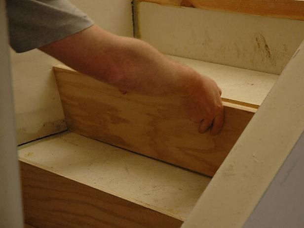 DIYNetwork.com explains how to install hardwood stairs.