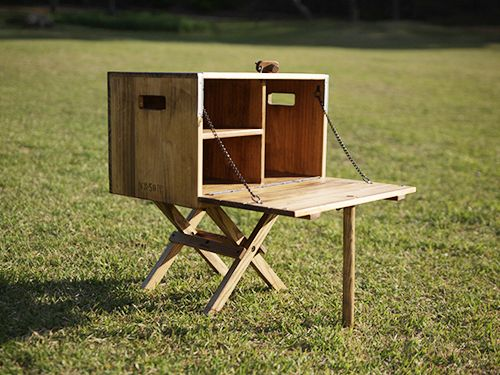 #wooginoki #handmade #outdoor #camping #vintage #woodenfurniture #woodenproduct #wildkitchenbox #chuckbox #medium #woodenchuckbox #kitchenbox