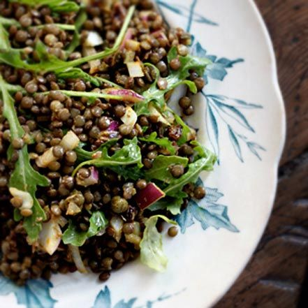 The Best Lentil Salad, Ever // My New Roots