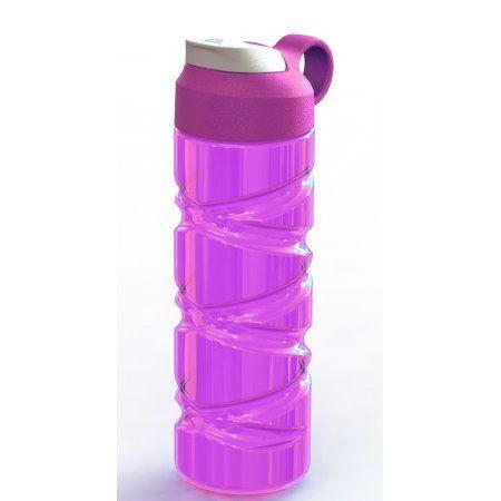 Arrow Lace-up Sport Bottle Pink