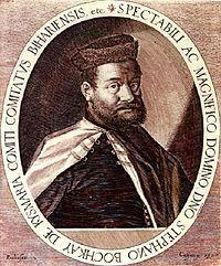 Stephen Bocskai or István Bocskai (or Bocskay, Hungarian: Bocskai István (1 January 1557 – 29 December 1606) was a Hungarian[1][2] Calvinist...