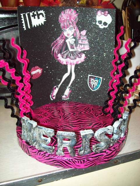 Party ideas for Lex's 9th birthday. Monster High