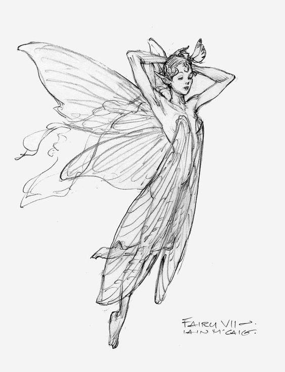 """Fairy VII"" by Iain McCaig:"
