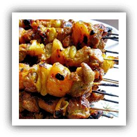 Sosaties, South African Kebabs Recipe