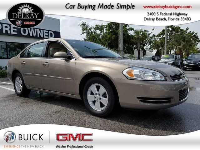 Cars for Sale: Used 2007 Chevrolet Impala LT for sale in Delray Beach, FL 33483: Sedan Details - 458381130 - Autotrader