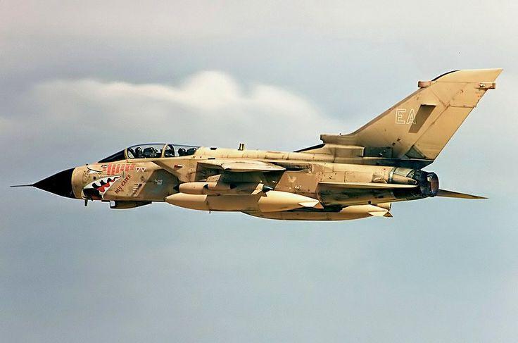 Royal Air Force Panavia Tornado GR.4 during Operation Desert Storm