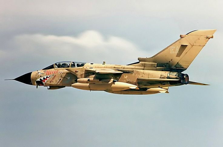 Royal Air Force Panavia Tornado GR.4 during Operation Desert Storm