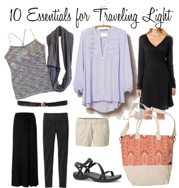 10 Essentials for Traveling Light via @insomeplaces