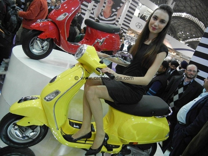 Low Cost Vespa LX125 With Fiber Body Is Just A Rumor?