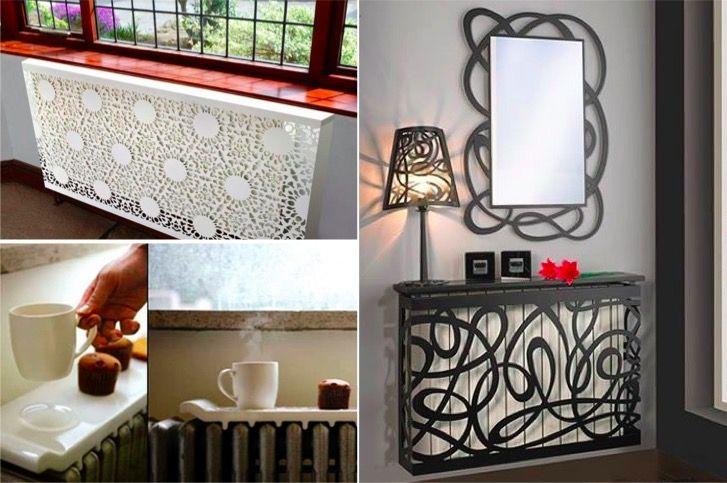 10 idées pour que le radiateur s'insère mieux à votre décoration