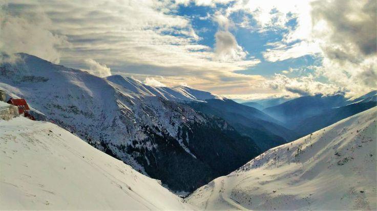Winter in Fagaras Mountains