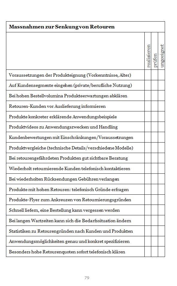 """Arbeitshilfe zu wichtigem Thema als Beispiel der Kompaktinformationen des Buches. """"Onlinemarketing-Praxis für Webshops"""" ISBN 978-3-906092-26-3 bei Amazon"""