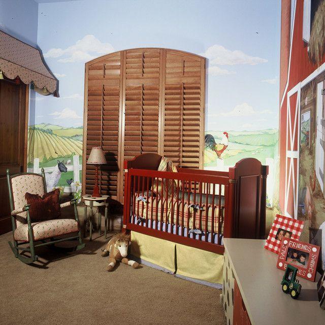 Ev Tasarımları   Erkek Bebek Odaları