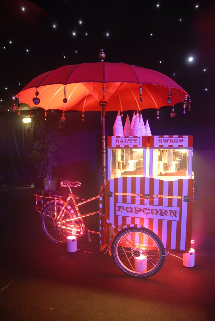 Popcorn Tricycle - Popcorn | www.contrabandevents.com