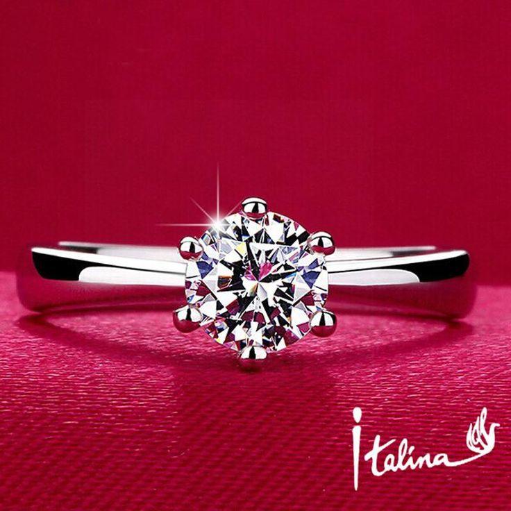 925 Sterling Silver Italina Ring