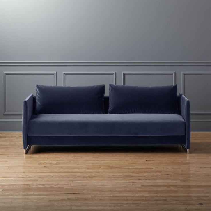 Shop Tandom Navy Blue Velvet Sofa  Make room for two with our tandom blue  velvet. 17 best ideas about Navy Blue Furniture on Pinterest   Blue