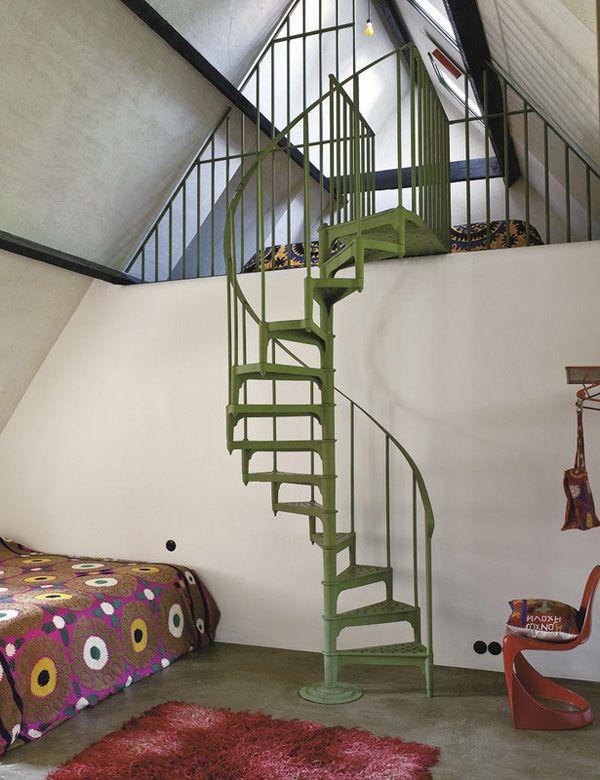 Best 25 Mezzanine Bed Ideas On Pinterest: Best 25+ Spiral Staircases Ideas On Pinterest