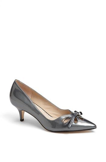 Absolutely love this steel-colored patent. Joan & David 'Gardner' Pump | Nordstrom