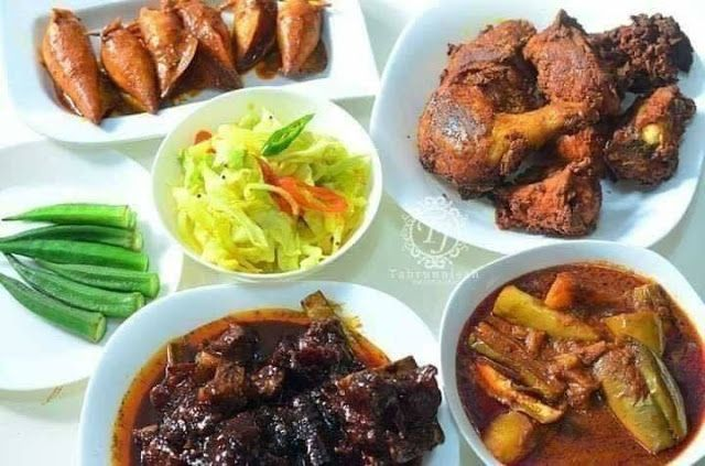 Resepi Set Nasi Kandar Tak Rugi Kalau Cuba Jom Lihat Apa Bahan Bahan Yang Diperlukan Chicken Food Chicken Wings