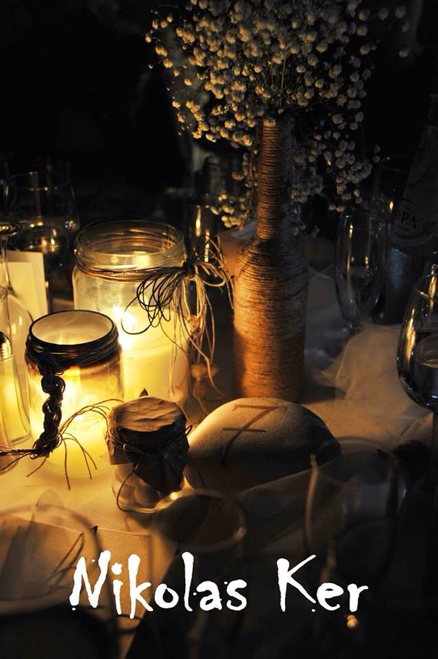 Art de la table M&M (wedding, decoration, favors, flowers) by Nikolas Ker.