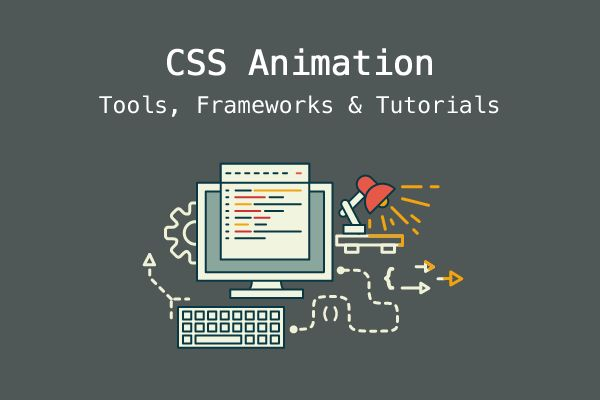 An extensive collection of tools, frameworks, and tutorials that will help ease your CSS animation learning woes and help save you time along the way.