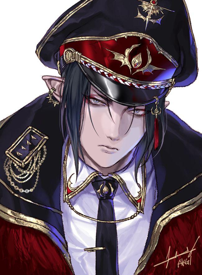 Men in military uniform are always the best! So damn hot!!!!!!! Char: Hoozuki A/M: Hoozuki no Reitetsu