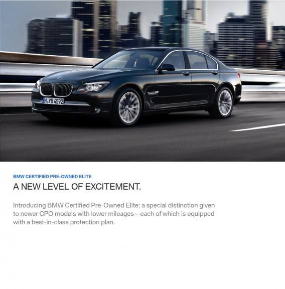 BMW Certified Pre-Owned Elite