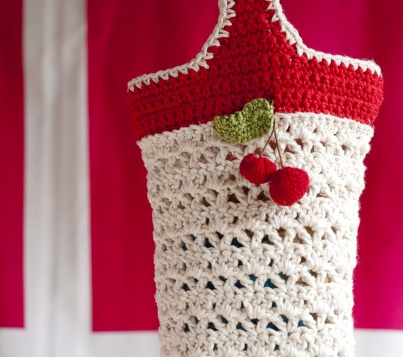 14 Best Images About Grocery Bag Holder On Pinterest Free Pattern