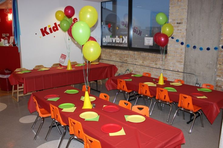 I Adore What I Love Blog // Brody's First Birthday Party - The Planning // Kidville Eating Area // www.iadorewhatilove.com #iadorewhatilove