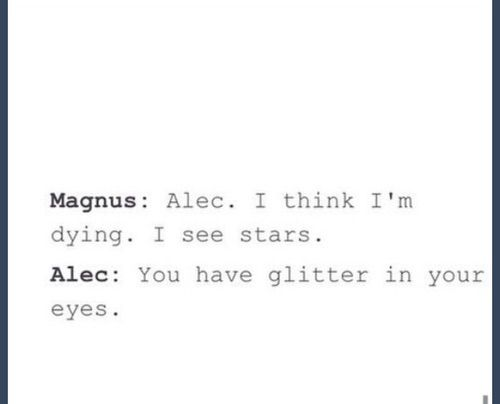 booksbemylover   on We Heart It   This made us lol  Malec    lt 3