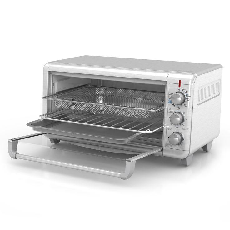 BLACK+DECKER Extra Wide Crisp N Bake Air Fry Toaster Oven ...