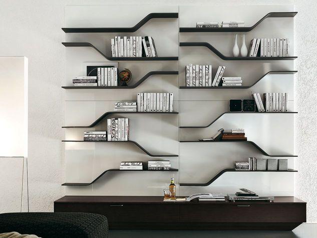 Risultati immagini per libreria a parete