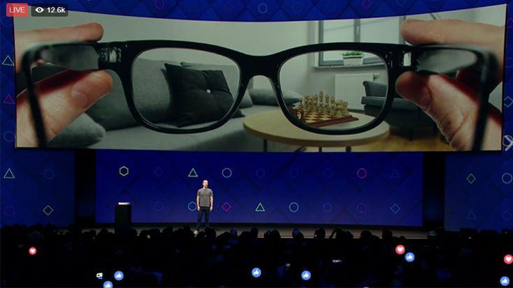 Webtekno ///  Facebook, 'Beynimizle' Kontrol Edeceğimiz Artırılmış Gerçeklik Gözlüğü Yapıyor!