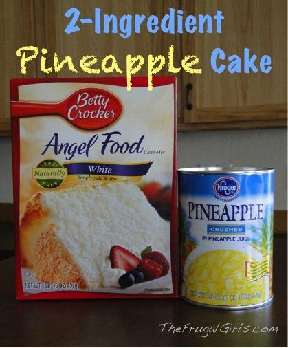 2 ingredient cake