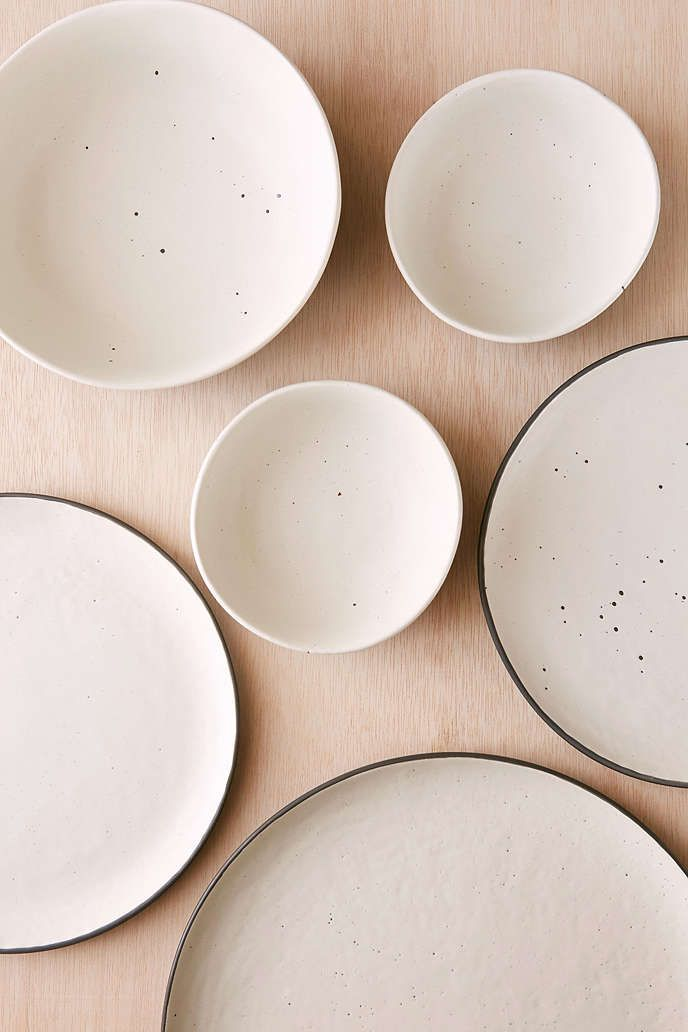 16-Piece Speckle Stoneware Dinnerware Set - Urban Outfitters