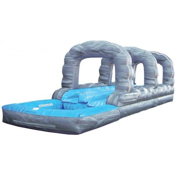Rock Arches 2 Lane Inflatable Slip-N-Slide | Fairfield CT Water Slide Rentals