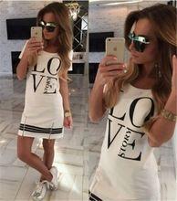 2015 stampa casual estate delle donne mini vestito a-line breve o-collo del cotone poliestere solido delle donne del vestito vestidos femininos(China (Mainland))