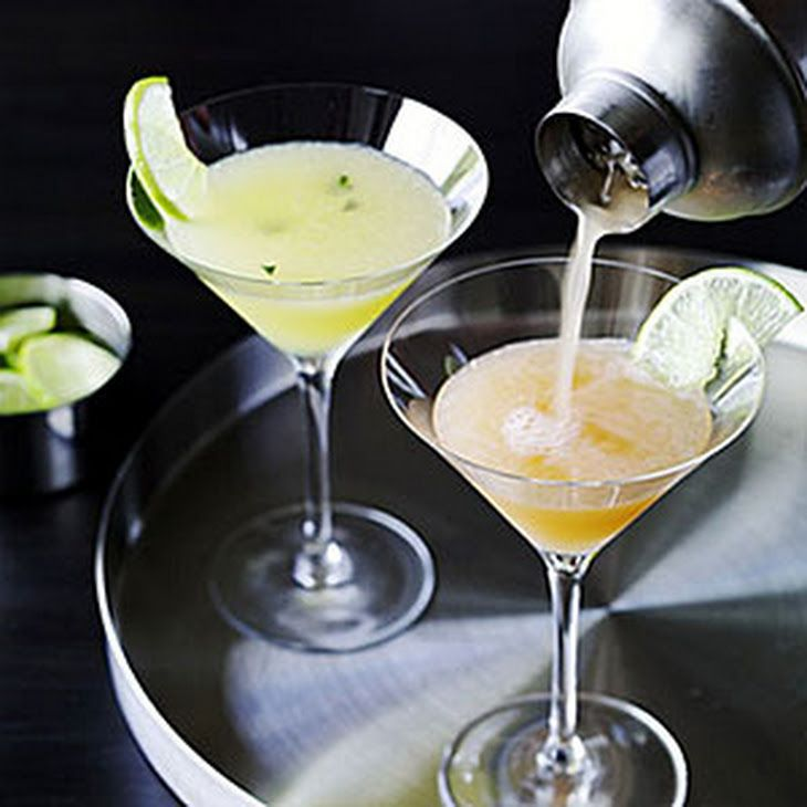 Pandora Elixir Recipe Beverages, Cocktails with light rum, passion fruit, lime zest, kaffir lime leaves, fresh lime juice, soda water