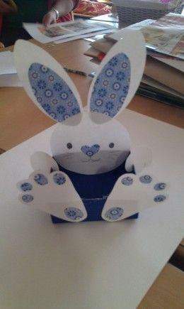 Paper Bunny | Easy DIY Easter Basket Ideas for Kids