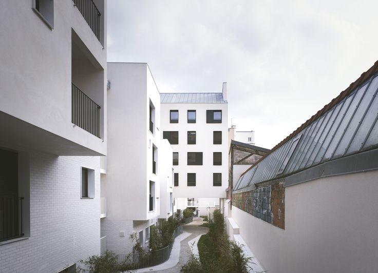 33 logements neufs et réhabilités, Paris 20 - SIEMP - Antonini Darmon